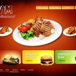 Thiết kế web nhà hàng độc đáo và ấn tượng